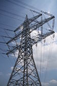 Highvoltage pylon — Stockfoto