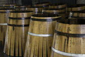 Staves for manufacturing barrels of wine — Stock Photo