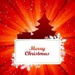Christmas card. — Stock Vector