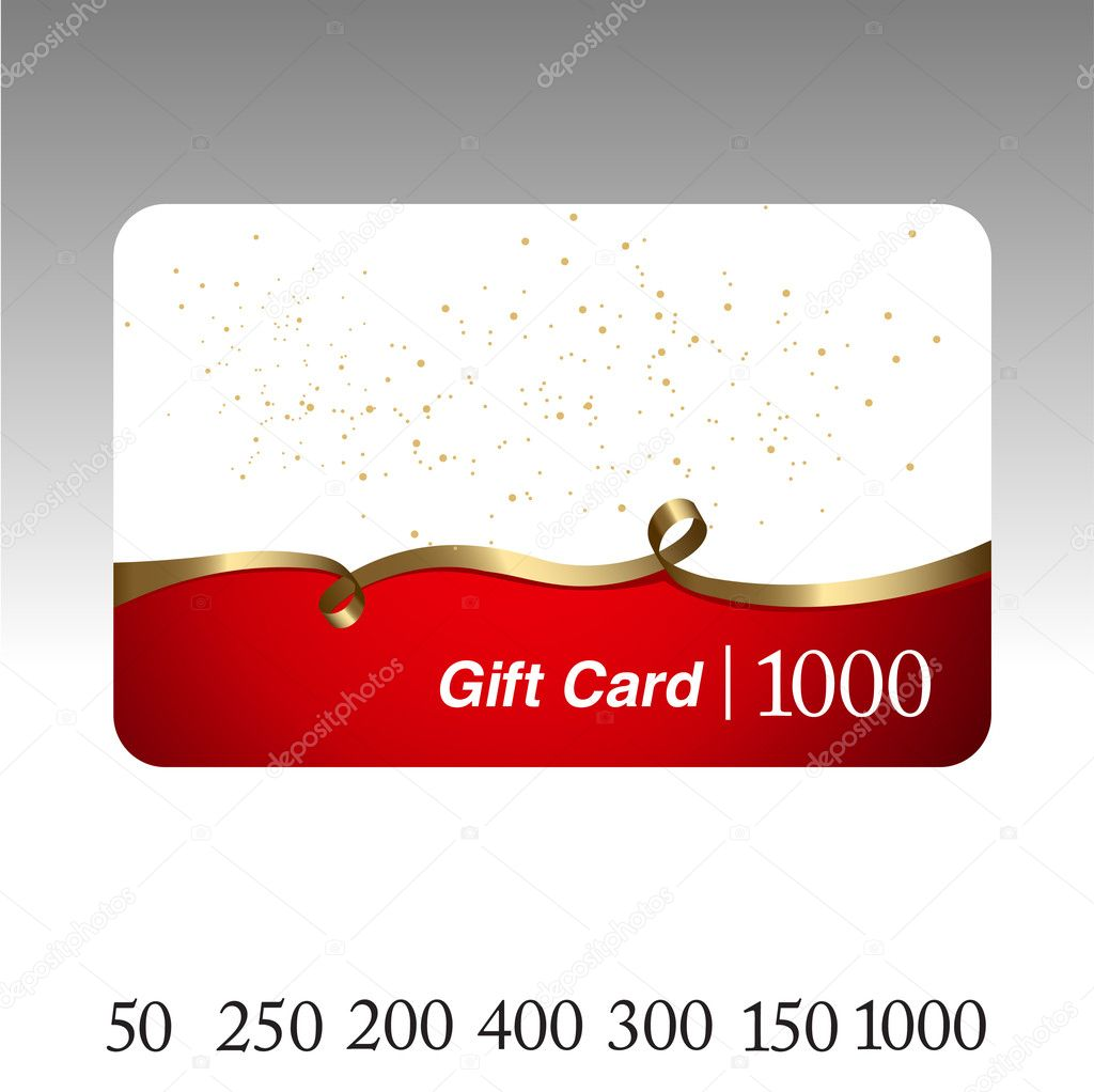 Beautiful gift card.  — Stock Vector #4239008