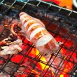 Grilled squid — Stock Photo