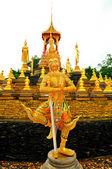 Thailand Sculpture illustrating Ramayana — Stok fotoğraf