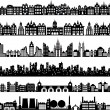 Royalty-Free Stock Vektorgrafik: Vector houses