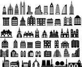 Vector houses — Vector de stock