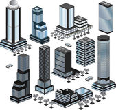 Vector buildings — Vector de stock