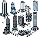 Vector buildings — Stock Vector