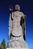 A statue of big Buddha in Ushiku — Stock Photo