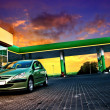 Royalty-Free Stock Photo: Gas station