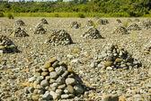 пирамиды камней — Стоковое фото
