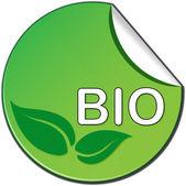 Bio ticket — Stock Vector