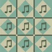 Muzikale patroon — Stockvector