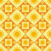 Sun pattern — Stock Vector