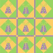 Gift pattern — Stock Vector