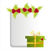 Weihnachten-frame — Stockvektor