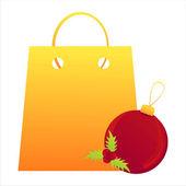 Christmas bag — Stockvector