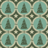Christmas tree pattern — Stock Vector