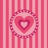 Hearts background — Vecteur
