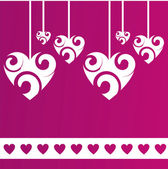 St. valentine's day background — Vector de stock