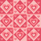 Hearts pattern — Stock vektor