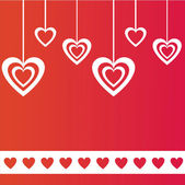 St. valentine's day background — Stockvektor