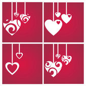 St. valentine's day backgrounds — Stock vektor