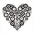 Abstract heart - Stock Vector