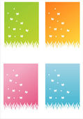 Nature backgrounds — Stock Vector
