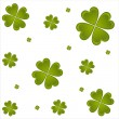 St. patrick's day pattern — Stock Vector