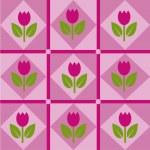 Tulips pattern — Stock Vector #4914494