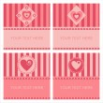Cute hearts frames — Stock Vector #4924208