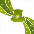 St. patrick's day background — Stock Vector