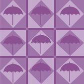 傘のパターン — ストックベクタ