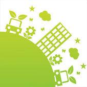 Ekologické ilustrace — Stock vektor