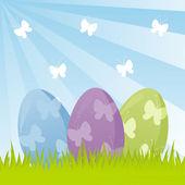 Sfondo di Pasqua — Vettoriale Stock