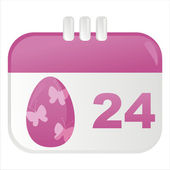 Easter icon — Stock Vector