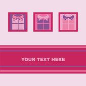 プレゼント カード — ストックベクタ