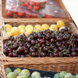 Fresh Fruit Display — Stock Photo