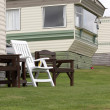 Stock Photo: Mobile Home in Pembrokeshire