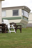 Mobile Home in Pembrokeshire — Stock Photo
