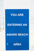 Award Sign — Stock Photo