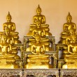 Golden buddha - Stok fotoraf