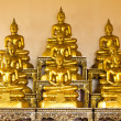 Golden buddha — Stock Photo #4047662