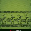 Green deer -  