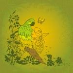 Parrot — Stock Vector #5038836