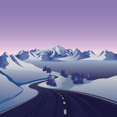 Road__ — Vector de stock