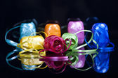 Set of colourful gift ribbons — Stock Photo