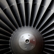 Stock Photo: Jet-Turbine
