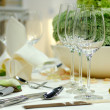 Dining table — Stock Photo #4024206
