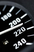 Speedometer of a car — Stock Photo