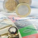 Finance roulette — Stock Photo